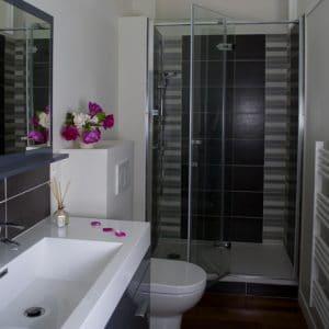 Salle de bain - Gîte bord de Loire - La Maison de Gabin & Augustin