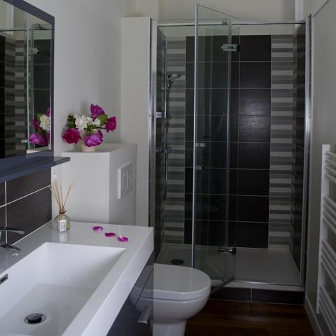 Salle de bain - Gîte de groupe - La Maison de Gabin & Augustin