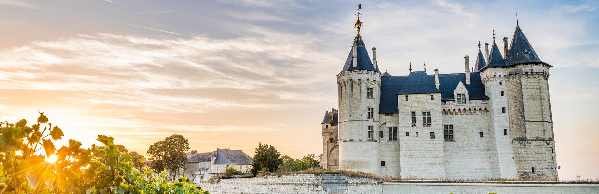 Château de Saumur - Gîte à proximité des châteaux de La Loire - La Maison de Gabin & Augustin
